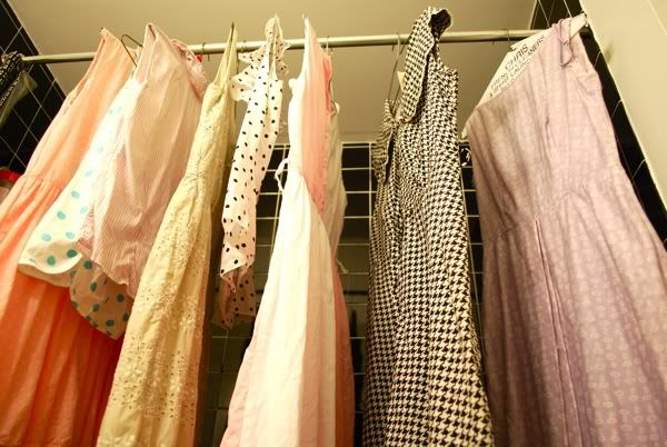 cleaning vintage clothing