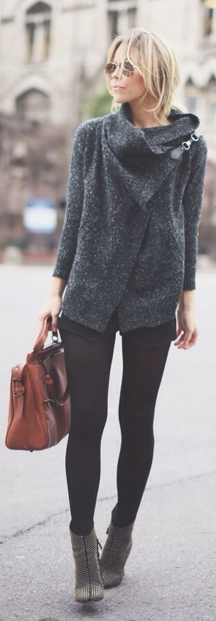 Classic Winter Layers - Happily Grey