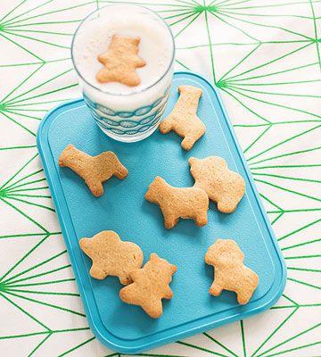 Animal Cracker-Inspired Cookies