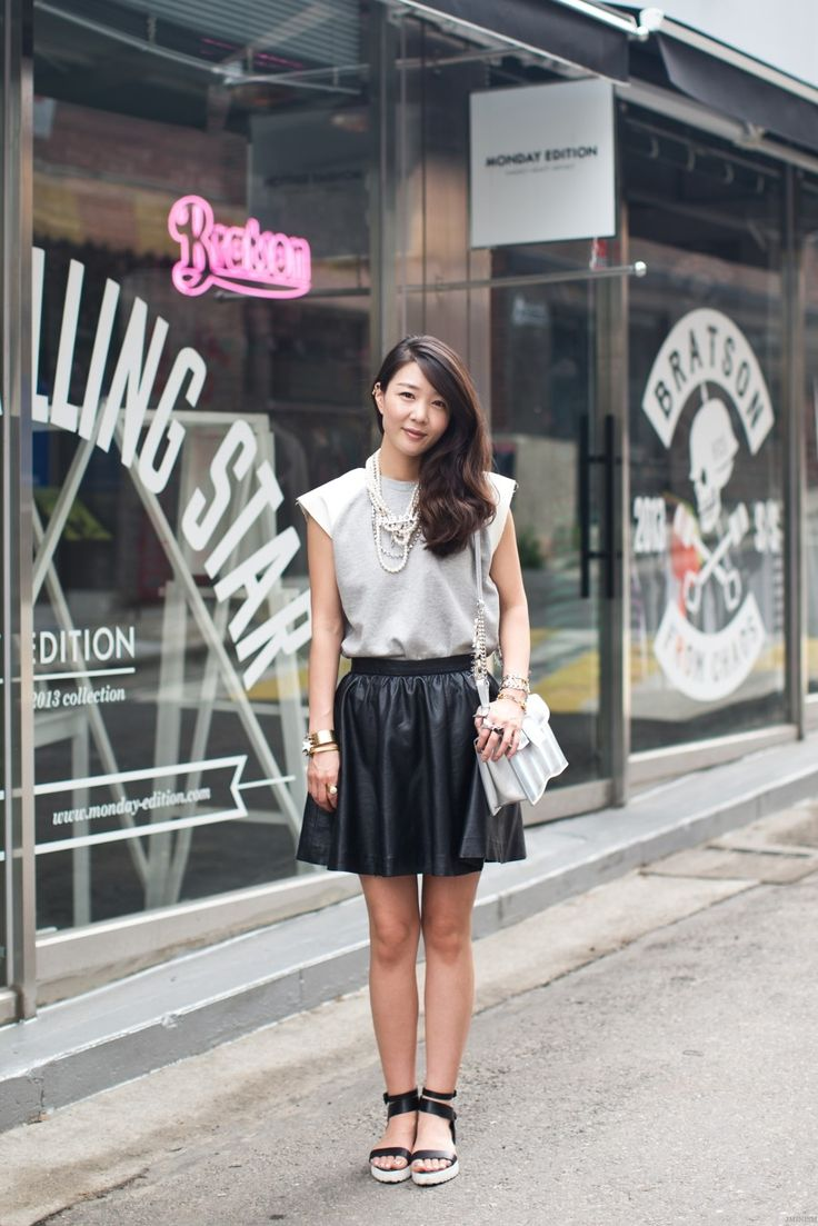 Asian Street Fashion Jamujem Pinterest