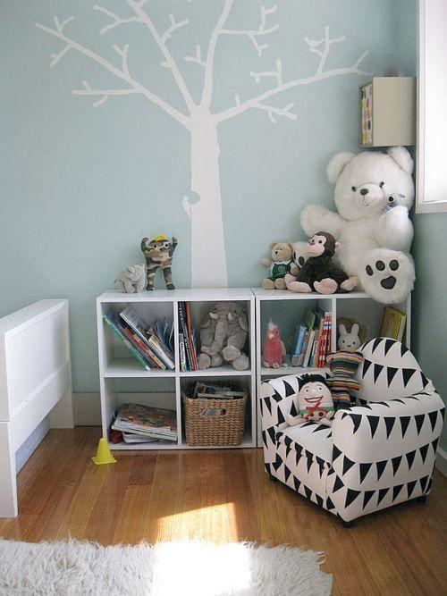 Decoracion de Bibliotecas en Dormitorios Infantiles