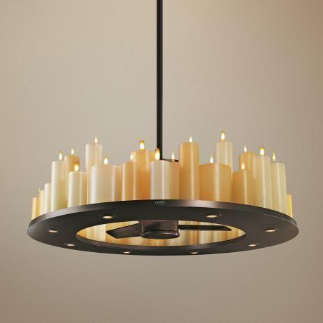 chandelier ceiling fan   Home sweet home   Pinterest