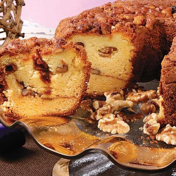 Cinnamon Walnut Coffee Cake is the perfect accompaniment for any ...