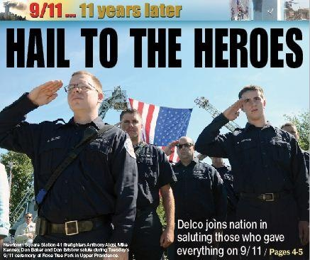 County holds annual ceremony to honor terror attack victims (With Video) - delcotimes.com Sept. 12, 2012