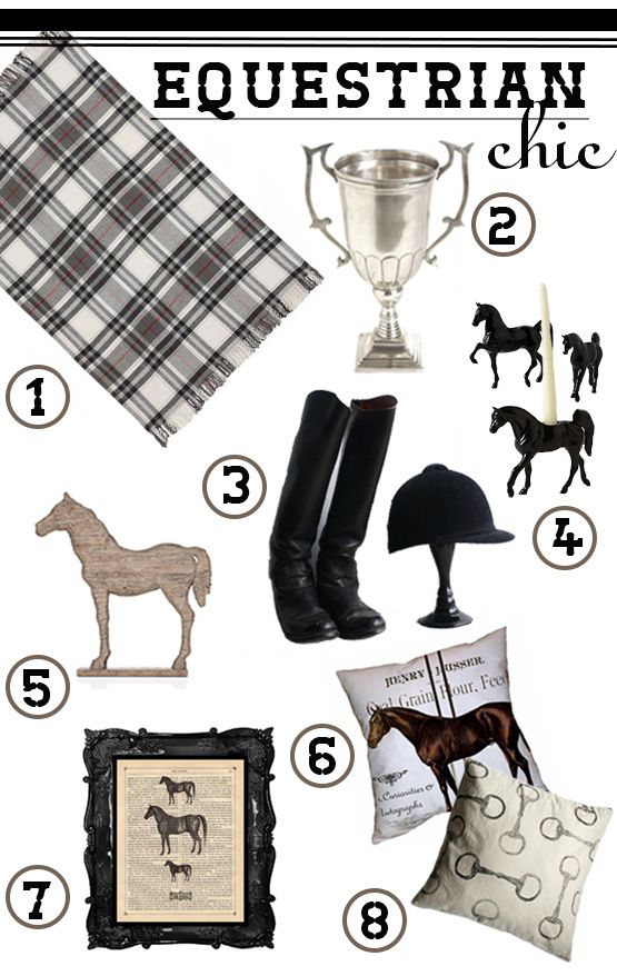 Equestrian Chic Decor Picks