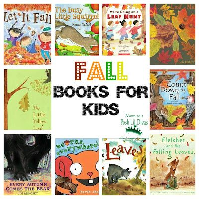 Great #Fall picture books to read at home with your kids... Library time :)