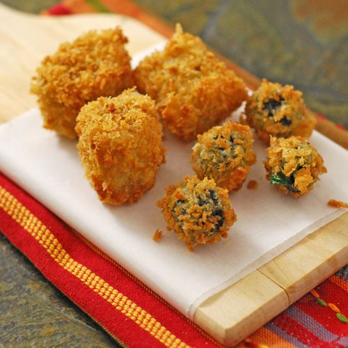 Fried Tamale Bites | misc recipes | Pinterest
