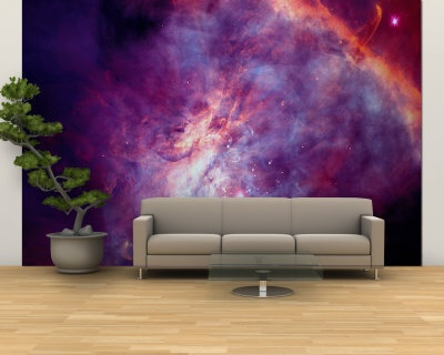 nebula wall mural pics about space