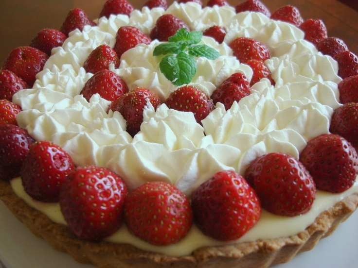 Half Baked: Strawberry Lemon Curd Tart