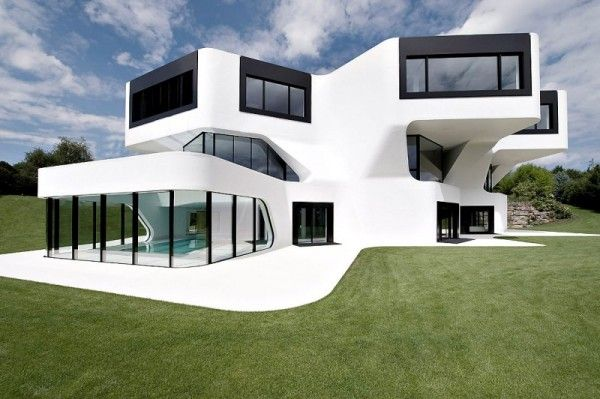Modern home in Germany