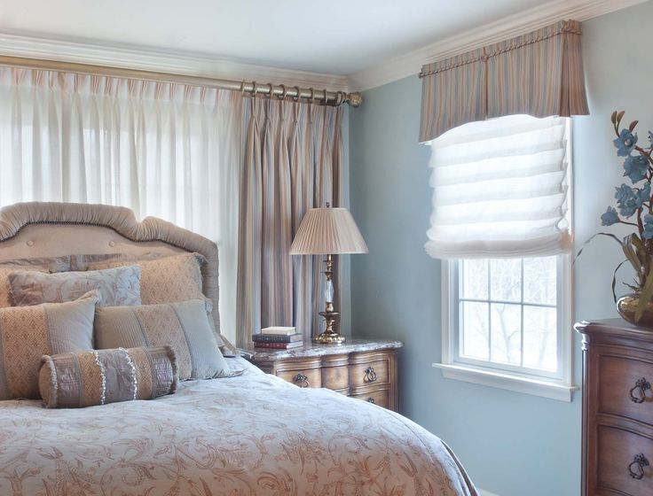 Custom bedroom window treatment custom window treatment pinterest Window coverings for bedrooms