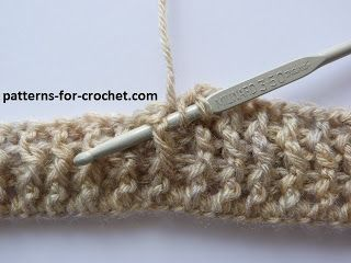 Crochet Stitches With No Holes : Patterns for Crochet crochet Pinterest