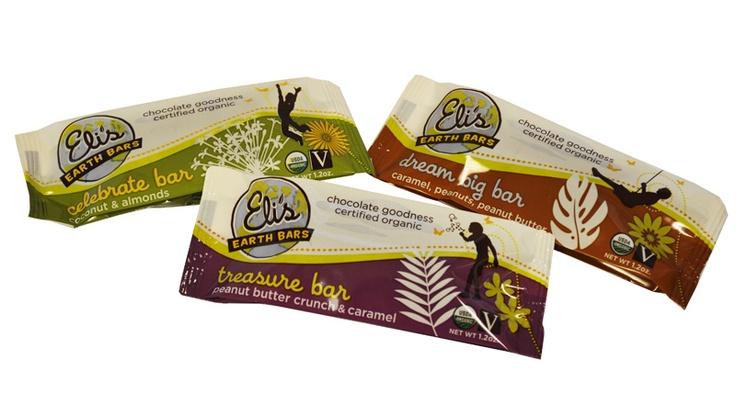 Earth chocolate bar