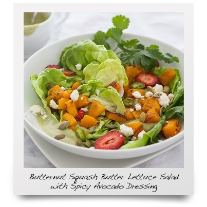 with Spicy Avocado Dressing Ingredients: For Spicy Avocado Dressing ...
