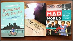 On Melissa Burton's reading list! Romance Is My Day Job, This Is The Sound Of My Soul and Mad World