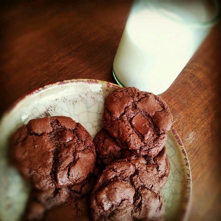 Mayan Cayenne Triple Chocolate Cookies | Cookie Monster | Pinterest