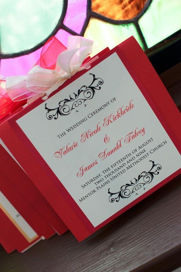 Bridal shower invitation - color and design