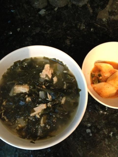 Korean seaweed soup (Miyuk guk) - so good and healthy!