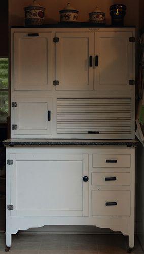 I love Hoosier Kitchen Cabinets...