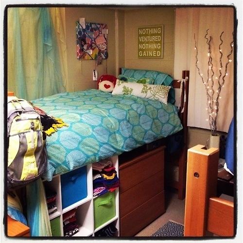 Dorm Room Bed Height