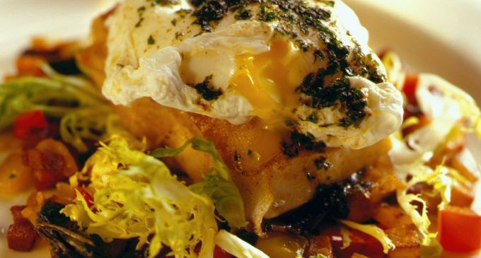 ... Bacon Hash and a Poached Egg, Parsley and Lemon Brown Butter | Recipe