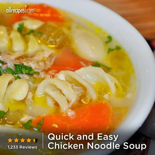 quick and easy chicken noodle soup neverbeenso quick and easy chicken ...