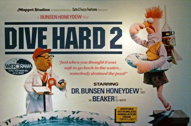 Dr. Bunsen Honeydew and Beaker in Dive Hard 2
