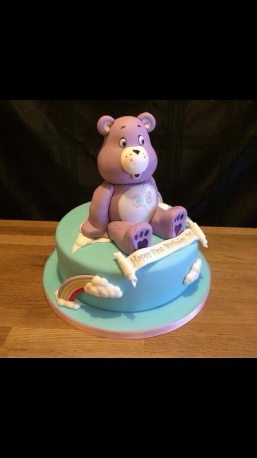 Care Bear Cake 80s style