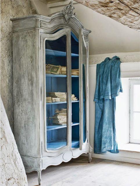 Beautiful versatile french armoires blog - Muebles vintage reciclados ...
