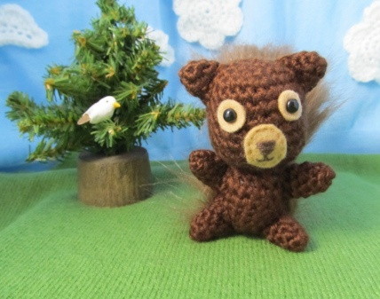 Crochet Squirrel Red | Sweet crocheting time