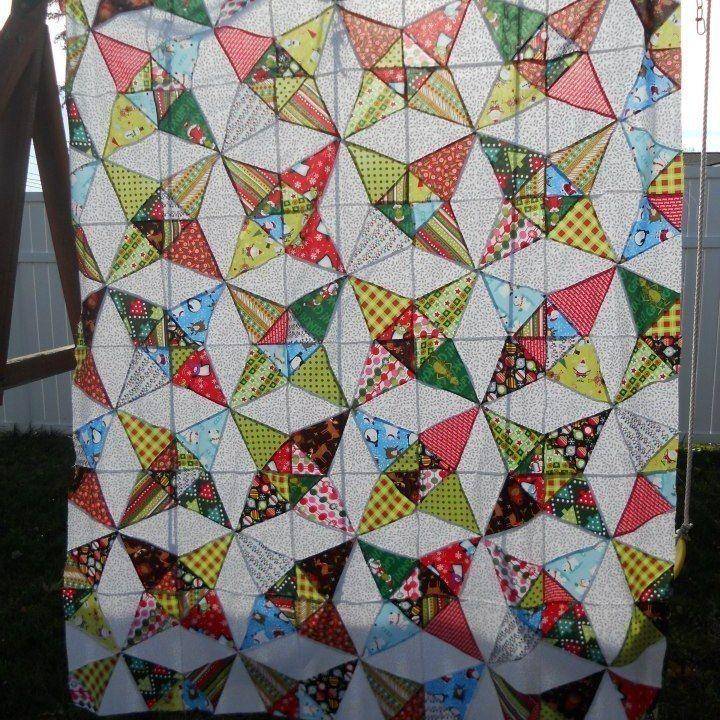 Kaleidoscope Quilt | Quilts | Pinterest
