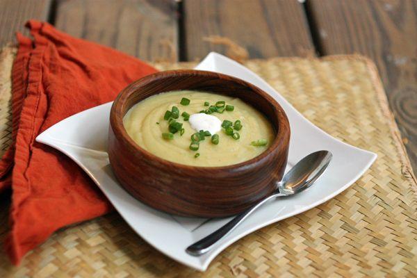 Easy Potato Leek Soup | Soup to Nuts | Pinterest