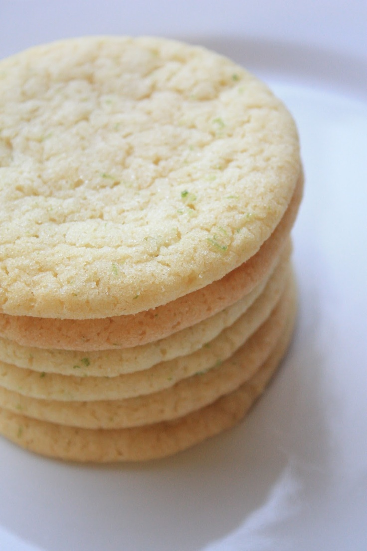 Giant Lemon-Lime Sugar Cookies | Cafês/Bistros ♨ | Pinterest