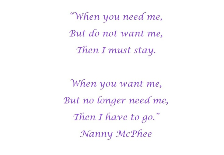 I Love You Nanny Quotes : Nanny Mcphee Quotes. QuotesGram