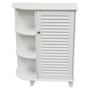target mobile site ellsworth floor cabinet with side shelves white