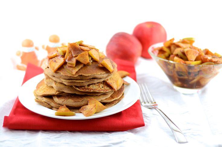 Gingerbread Pancakes | Girl Makes Food | Breakfast - Pancakes/Waffles ...
