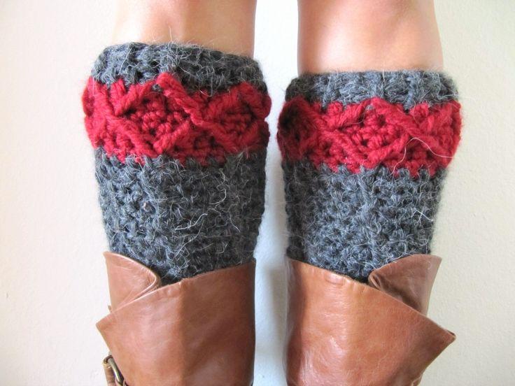 Free Leg Warmer Crochet Pattern Crochet Crazy Pinterest