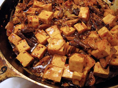 stank you very much: spicy tofu with shiitake mushrooms | Everybody ...