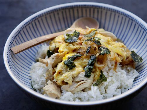 Japanese food -Oyakodon- : Chicken and Egg on Rice (here's the link of ...