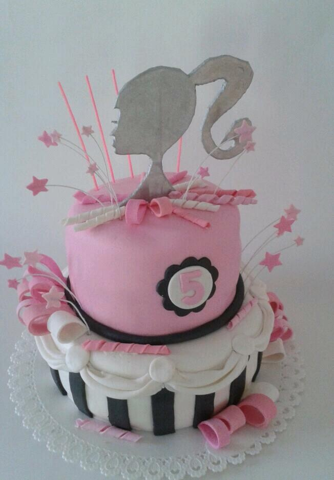 Cake Design Torta Barbie : Barbie cake Ideas para Fiestas (my work) Pinterest