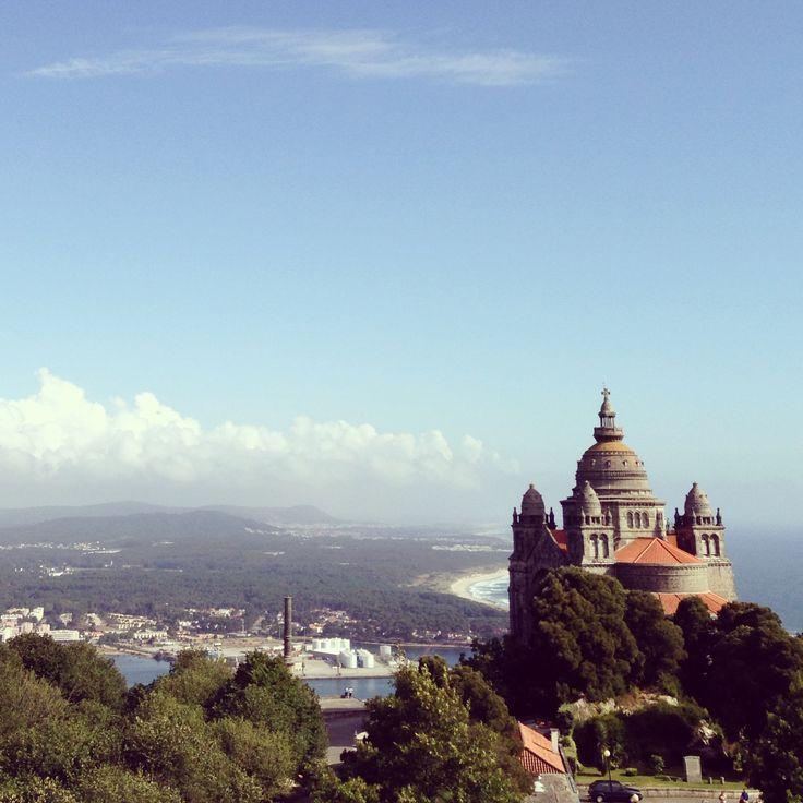 Sta luzia viana do castelo portugal places pinterest - Viana do castelo portugal ...