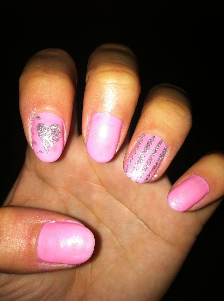 lightsLight Pink Nail Designs Pinterest