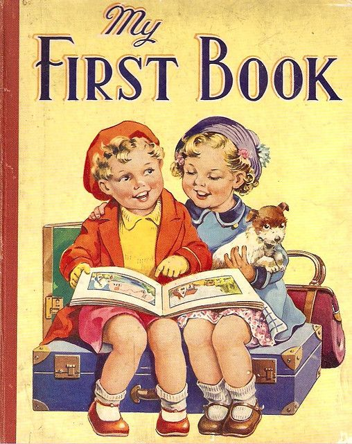 Children S Book Front Cover ~ My first book front cover sweet old children s books
