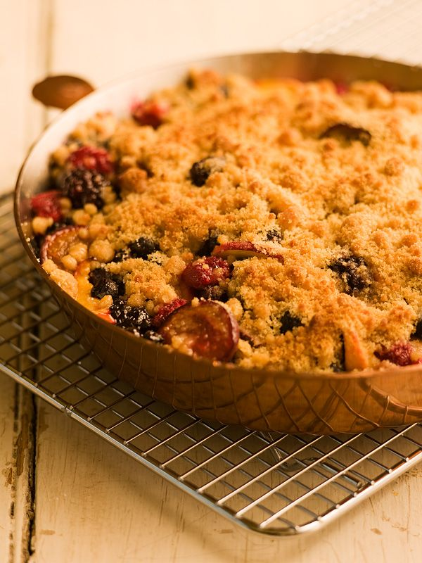 Fruit Crisp | desserts....pies, puddings, chocolates and misc sweet d ...