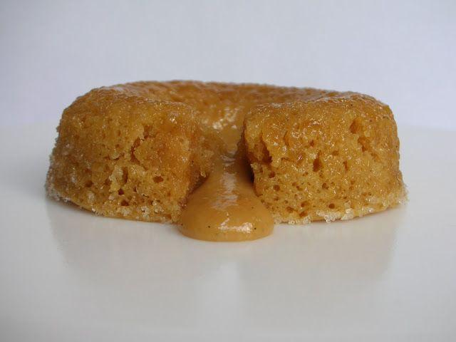 Dulce De Leche Lava Cake Recipe made with dulce de leche, butter, milk ...