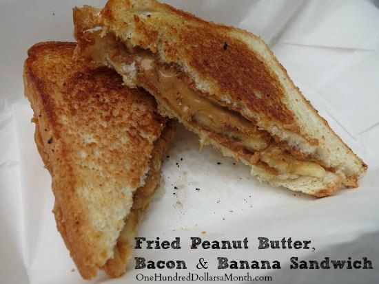 ... : Elvis Presley's Fried Peanut Butter, Bacon and Banana Sandwich