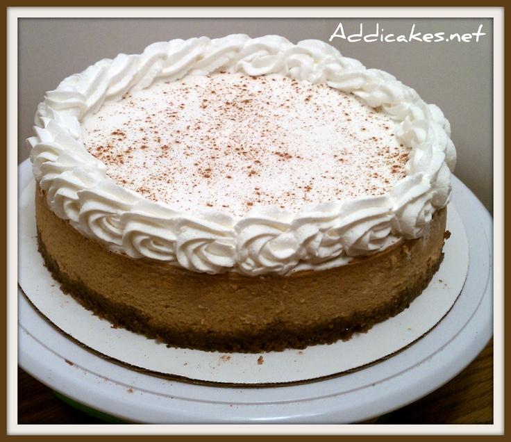 Pumpkin Bourbon Cheesecake | Thanksgiving | Pinterest