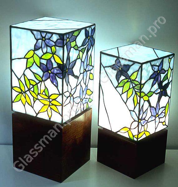 Светильники своими руками из стекла 193