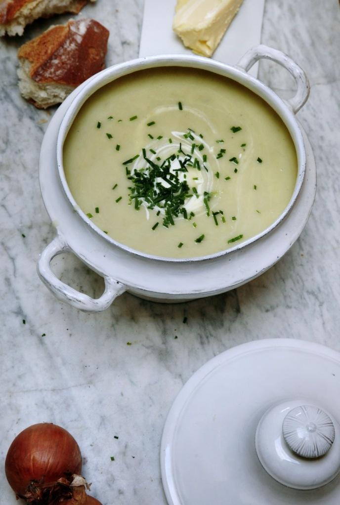 Crème Vichyssoise | Yums | Pinterest