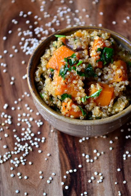 Roasted Vegetable Quinoa | Food | Pinterest